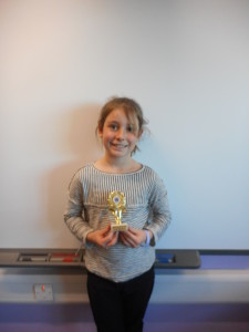 Year 4 Mathlete of the Month