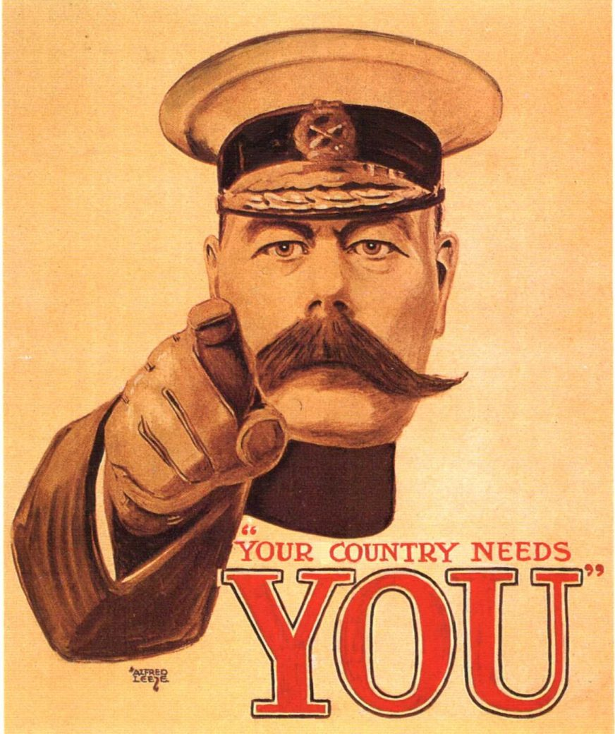 Kitchener Your Country Needs You