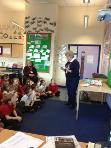 Mrs Nelson explained to us what kind of things we could bring in to help.
