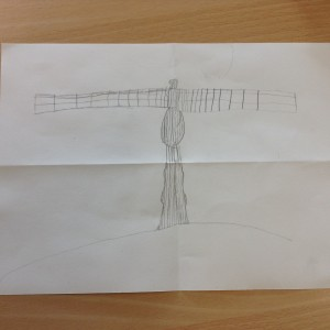 Angel of the North Sketches (8)
