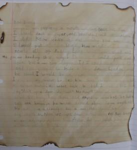 Kai's GFOL diary entry