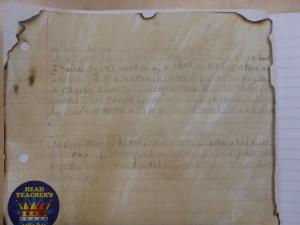 Reid's GFOL diary entry